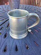 Vintage Woodbury Pewter Tankard Mug 197.5 Grams