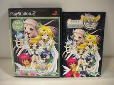 PlayStation2 -Galaxy Angel II Mugen Kairo no Kagi The Best- PS2 JAPAN GAME 52617