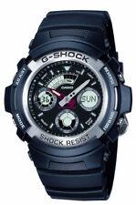 Casio G-Shock AW-590-1AER Black Ani-Digi 200m WR Classic with World Time BNIB