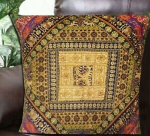 """33% OFF 30"""" GREEN PATCHWORK HOME DECOR THROW BED CUSHION PILLOW COVER ACCENT"""