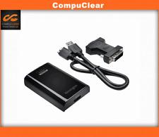 Kensington Universal Multi-Display Ultra-Fast USB 3.0 Video Adapter with DVI-VGA