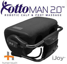 Interactive Health iJoy Ottoman 2.0 Calf Foot Massager  Black Microsuede Massage
