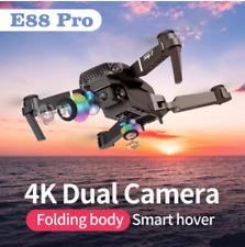 4k HD dual camera drone SHAREFUNBAY E88 pro, visual positioning 1080P WiFi fpv.