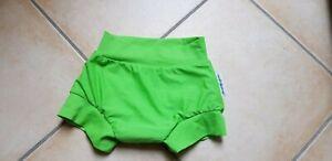Schwimmwindel Windelmanufaktur 74 / 80 grün Baby waschbar Schwimmen
