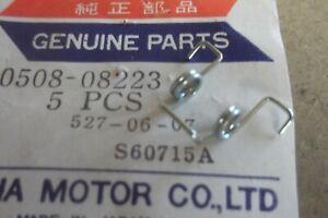 YAMAHA TZ250 TZ350 TX650 TD2 TD3 TR3 TR2B GENUINE FUEL CAP SPRING  # 90508-08223