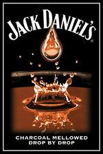 JACK DANIEL'S CHARCOAL  POSTER (61x91cm)  PICTURE PRINT NEW ART