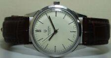 Vintage Universal Geneve Winding Swiss Made Steel Wrist Watch s126 Used Antique
