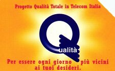 G 625 C&C 2689 SCHEDA TELEFONICA USATA PROGETTO QUALITA' ALFANUMERICA