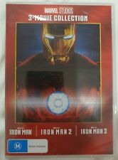 Iron Man 3 Movie Collection BRAND NEW SEALED Region 4 DVD 1 2 3