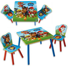 Paw Patrol Kindersitzgruppe Sitzgruppe Kinder Möbel Kinderstühle Kindertisch NEU