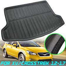 For Subaru XV Crosstrek Impreza Hatch 12-17 Boot Liner Cargo Trunk Floor Mat