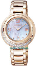EX1122-58D,CITIZEN Eco-DriveWatch,19Diamonds,MotherOfPearlDial,SapphireGlas,Lady
