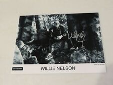 Willie Nelson Autographed Photo Hand Signed  8.5x11