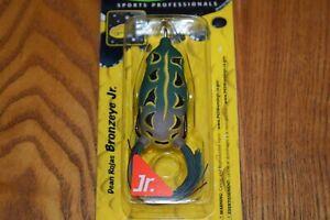 Spro Dean Rojas Bronzeye Frog Jr 60 Topwater Fishing Lure (Natural Green) NIP