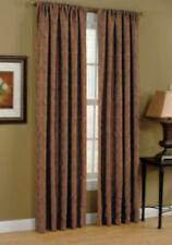 2 Allen & Roth 0245153 Raja 50 X 84 Paprika Pole Top Panel Curtain Drapes Set