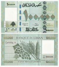 Lebanon P-95 2012 100000 Livres (Gem UNC)