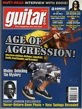GUITAR ONE MAGAZINE: OCTOBER 1998 EDDIE VAN HALEN CCR ROBERT JOHNSON KISS