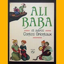 ALI BABA ET AUTRES CONTES ORIENTAUX Éditions RST J. Gilly 1969