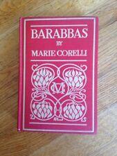 BARABBAS by Marie Corelli  HC (1893)