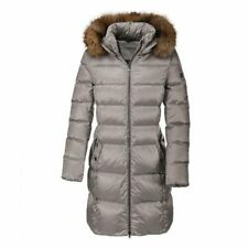 Pikeur Premium Amara Down Jacket ladies silver grey 38 UK 10 padded long coat