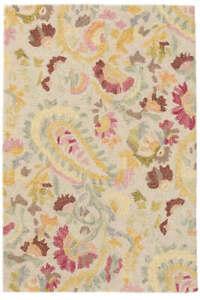 Area Rug 3' x 5' INES Pastel Micro Hand Tufted Dash & Albert Woolen Carpet