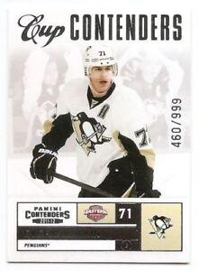 11/12 PANINI CONTENDERS CUP CONTENDERS Hockey /999 (#101-150) U-Pick from List