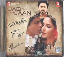 JAB TAK HAI JAAN / SOLANGE ICH LEBE Bollywood Soundtrack CD - Shah Rukh Khan