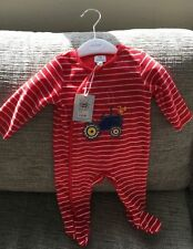 John Lewis Boys' Velour Babygrows & Playsuits (0-24 Months)