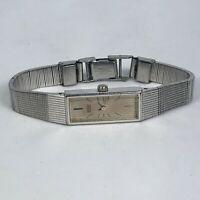 Seiko Womens 1320-5119 Silver Stainless Steel Bracelet Quartz Analog Wristwatch