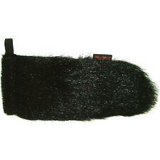 WindTech Mic-Muff Microphone Windshield – Faux Fur Windcover – Black MM-29