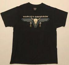 6ccc84c569ab Vtg Harley Davidson T-Shirt Los Angeles Double Sided Single Stitched Size  Large