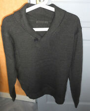 Pull gris col Chale taille S