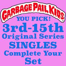 1986-88 Garbage Pail Kids Original Series 3rd thru 15th You Pick Singles NRMT-MT