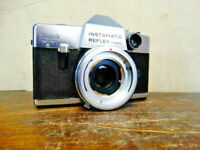 Vintage Kodak Instamatic Reflex Camera Body with Flash Mount Made in Germany