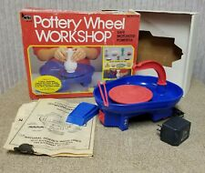 NSi Pottery Wheel Workshop Motorized with Foot Pedal Arts and Crafts for Kids