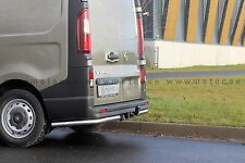 PROTECTION ARRIERE INOX , RENAULT TRAFIC 14- GARANTI 6ANS, DIAM