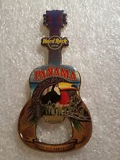 Hard Rock Cafe PANAMA Hotel  Magnet Guitar Bottle Opener VHTF