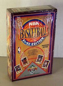 1991-92 UPPER DECK Basketball Hobby Box Factory sealed Inaugural Edition Jordan