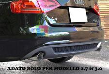ESTRATTORE AUDI A4 B8 07-12 DIFFUSORE POSTERIORE SOTTO PARAURTI SLINE 2.7 3.0