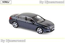 Peugeot 508 de 2014 Bourrasque Blue NOREV - NO 475813 - Echelle 1/43