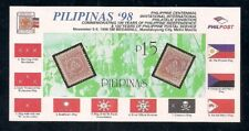 Philippines  1998  Sc # 2561   Philippines '98   Impf. s/s    MNH  OG   (40462)