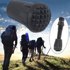 Wearable Rubber Tip End Cap Hammer Trekking Pole Walking Hiking Stick Cane AR