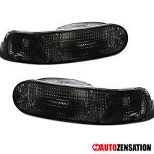 For 2000-2005 Mitsubishi Eclipse Smoke Rear Bumper Lights Signal Parking Lamps