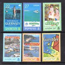GUERNSEY MNH 2003 SG991-996 EUROPA - POSTER ART