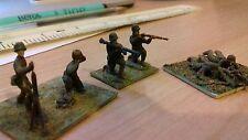 VINTAGE ESCI 1/72 20mm WW2 American MMG Mortaio sezione dipinto a base di Fanteria
