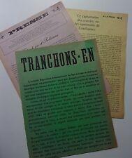 Tranchons-en - Tracts édités pour l'Expo internationale du surréalisme de 1965