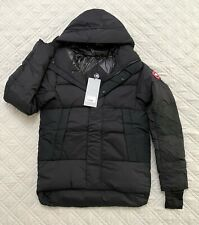 New Canada Goose Men's Armstrong Down Jacket Hoody Style 5076M Black Size M