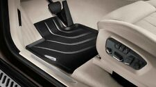 BMW F15 X5 Genuine Front & Rear All Weather Rubber Floor Mat Set, Mats 2014-up