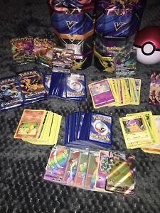 Pokemon Collection (1000+) VMAX, V Rare, Holo, Rare, Secret Rare