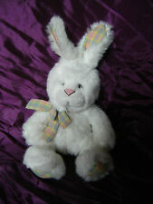 "RUSS BERRIE ''FLOPS''  RABBIT - 12"" - PLUSH, SOFT, CUDDLY TOY - VGC"